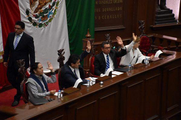 Autoriza Congreso pensiones temporales para víctimas del 15 de septiembre