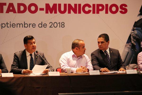 Signan 70 ayuntamientos Convenio de Coordinación para la Seguridad Pública Estado-Municipios