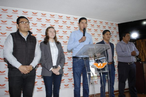 Renuncia a su salario dirigente de Movimiento Ciudadano