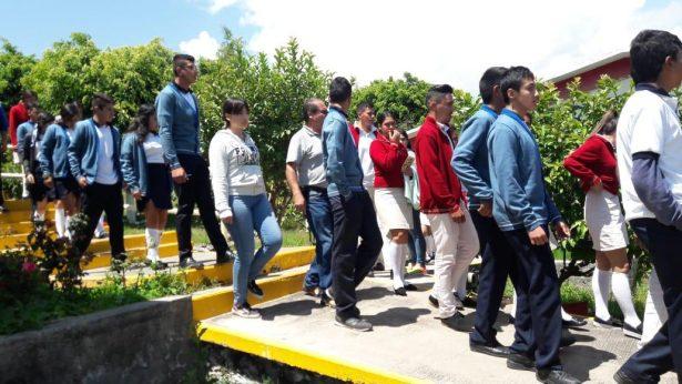 Más de 11 mil Escuelas de Educación Básica en Michoacán participaron en el macro simulacro Nacional