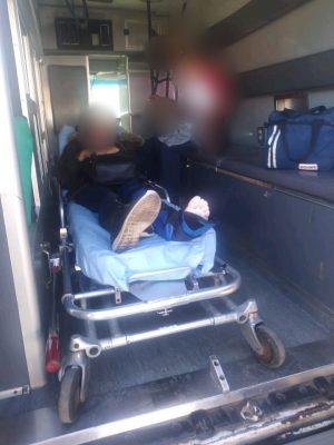 Una mujer y una menor resultan lesionadas al derrapar en una motocicleta
