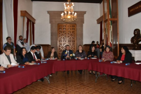 Presenta Morena su agenda legislativa