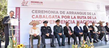Arrancan la Cabalgata Morelos