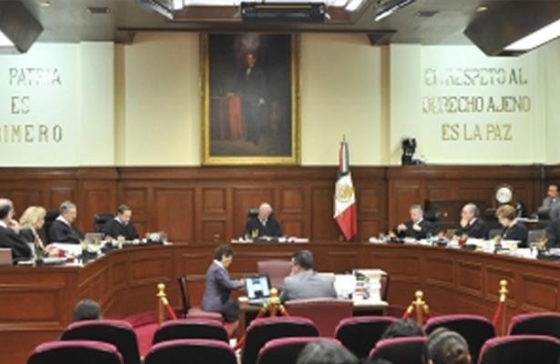 SCJN avalará o rechazará inconstitucionalidad promovida por PRD y Morena