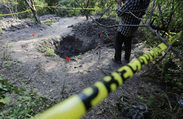 Localizan 672 fosas clandestinas entre 2014 y 2016 en México