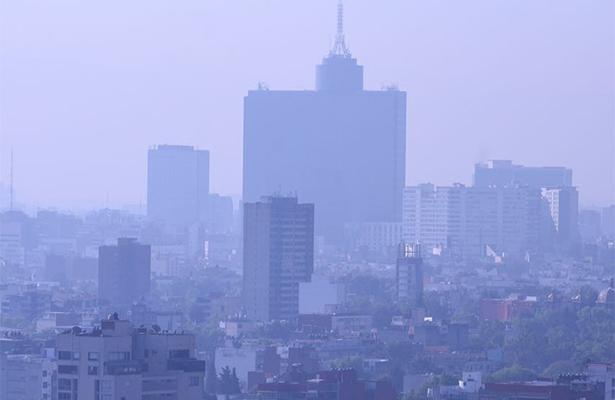 Valle de México amanece con alta contaminación