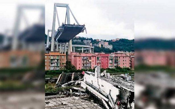 Grave crisis en Italia por estructuras consideradas de alto riesgo