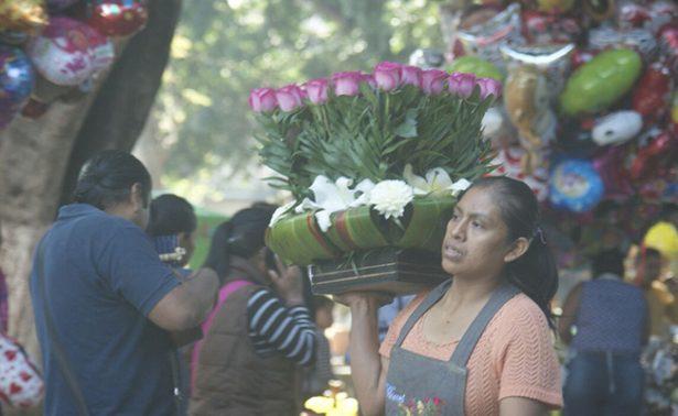 Incrementaron precios de rosas por el Día del Amor