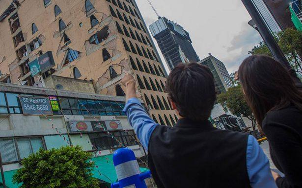 Caída de edificios, culpa del gobierno: Moreno Brizuela
