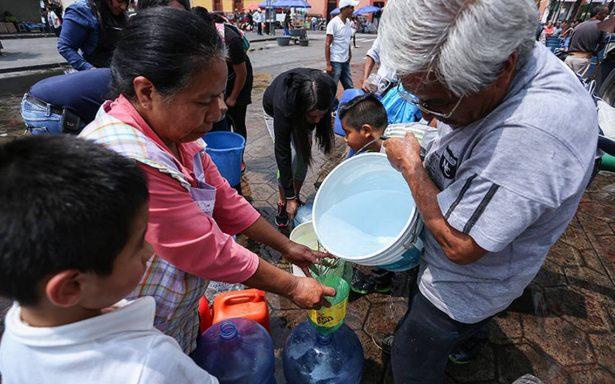 Xochimilco, el barrio de los labios agrietados tras escasez de agua