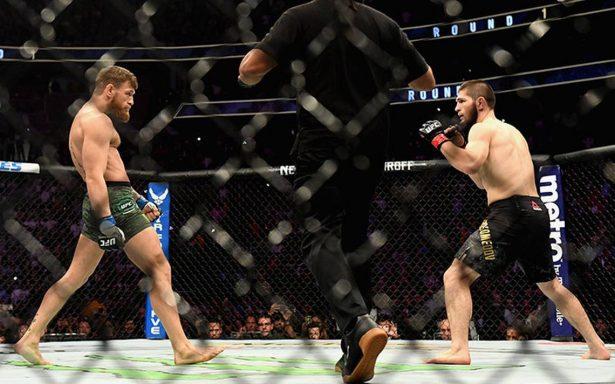 [Video] Así fue la pelea campal en el triunfo de Nurmagomedov sobre Conor McGregor
