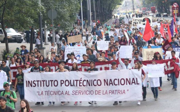 Marchan para exigir mayor presupuesto a ciencia y tecnología
