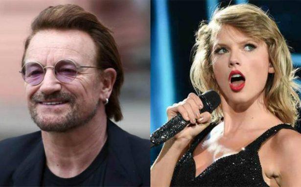U2 pone fin al reinado de Taylor Swift con su nuevo álbum