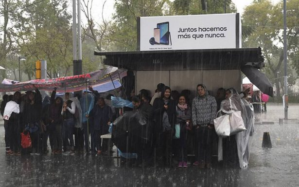 Lluvia y granizo amenazan al poniente de la Ciudad de México