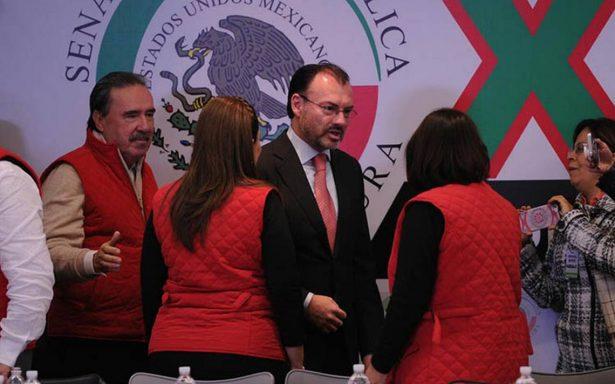 No negociaremos TLCAN a cambio de agentes armados en vuelos comerciales: Videgaray