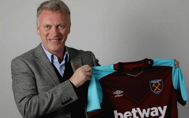 Chicharito se reencuentra con David Moyes en el West Ham