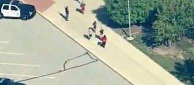 Tiroteo en escuela de Noblesville, Indiana, deja dos heridos