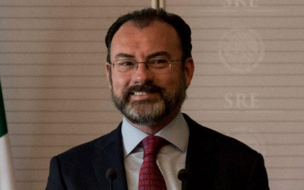 Relación comercial entre México y EU no depende ya del TLCAN: Videgaray
