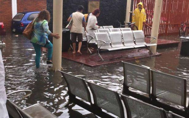 Hospital de Ticomán opera con normalidad tras tromba; hay más de 800 familias afectadas en la GAM