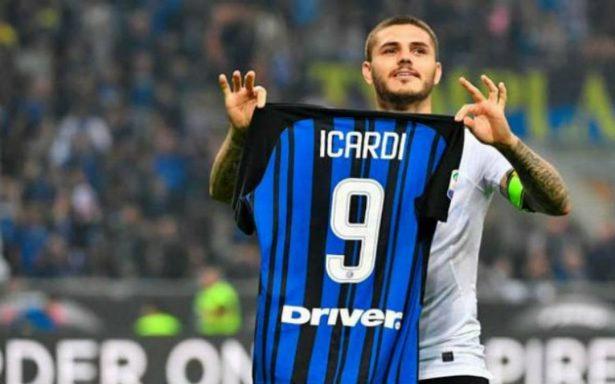 Triplete de Mauro Icardi y el Inter vence al Milan