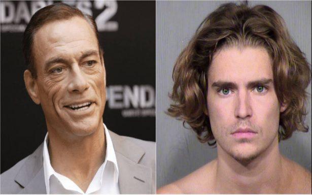 Detienen al hijo de Van Damme por agresión con cuchillo