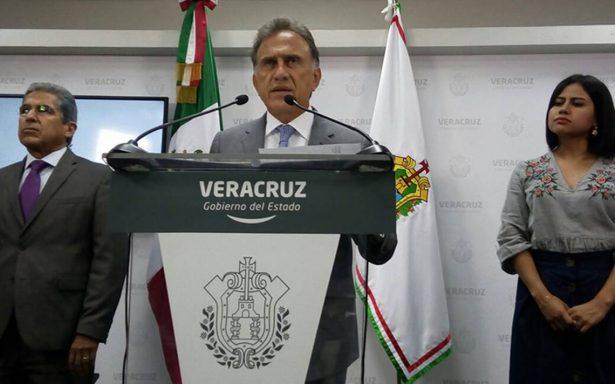 Gobierno federal nunca me presionó para ayudar a Duarte, dice Yunes