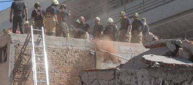 A tres meses del sismo, inicia demolición del Colegio Rébsamen
