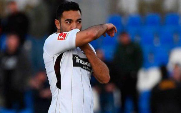 ¡Por fin! Marco Fabián vuelve a la actividad con el Eintracht