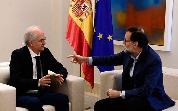 Maduro indignado tras encuentro entre Rajoy y líder opositor Ledezma