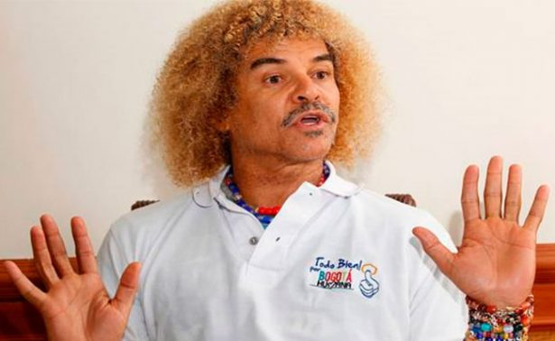 """Demandan al """"Pibe"""" Valderrama y le prohíben salir de Colombia"""
