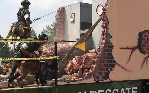 Fuerzas Armadas listas para el último desfile militar que encabezará Peña Nieto