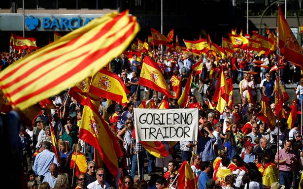España exige diálogo y unidad por Cataluña