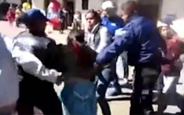 [Video] Difunde Anonymous detención de indígena en Chignahuapan