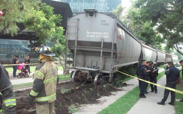 No era una nueva atracción; restablecen tránsito tras descarrilamiento de tren en Polanco