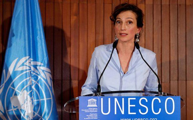 Eligen a nueva líder de la Unesco