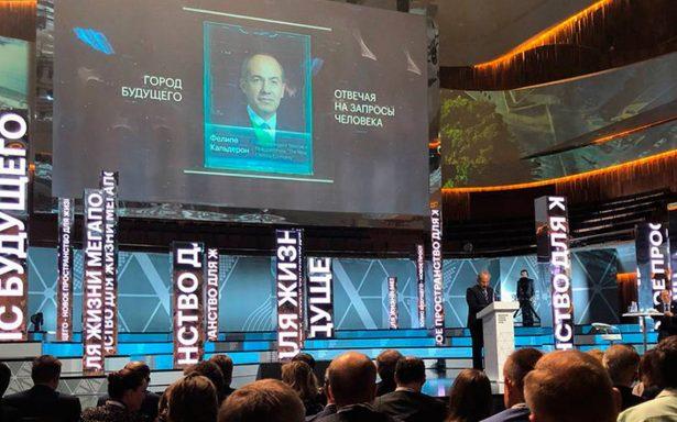 Más transporte masivo en la CDMX como en Moscú: Felipe Calderón