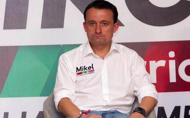 Mikel Arriola reta a Alejandra Barrales a someterse a prueba de polígrafo