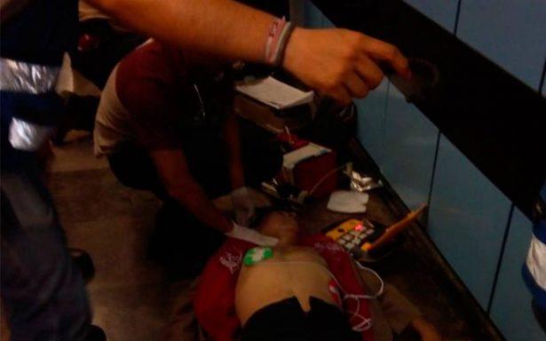 Hombre se desmaya en Metro Lagunilla y muere pocos minutos después