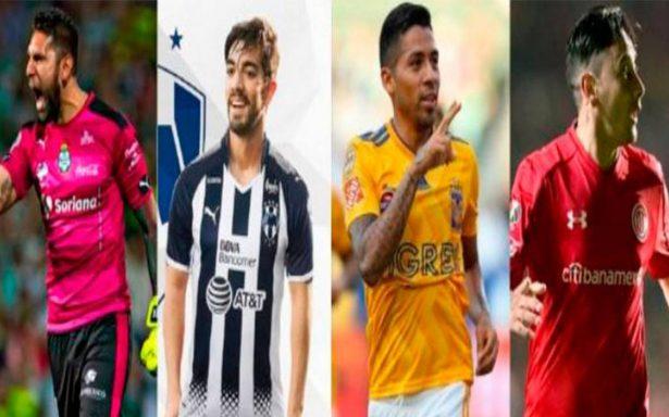 Santos, Tigres, Monterrey y Toluca, los otros protagonistas de la Liga MX