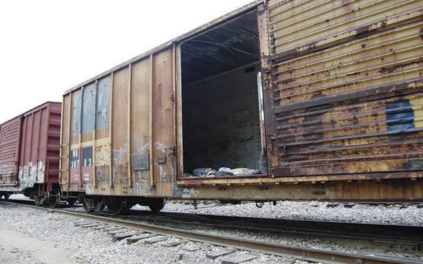 Baja robo a tren  en zonas Impulso