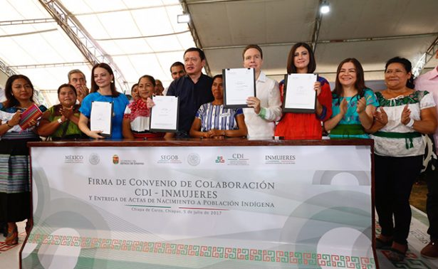 Fortalecen seguridad y bienestar en Chiapas