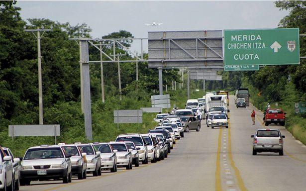 Miles de turistas, en la mira de taxis piratas en Cancún