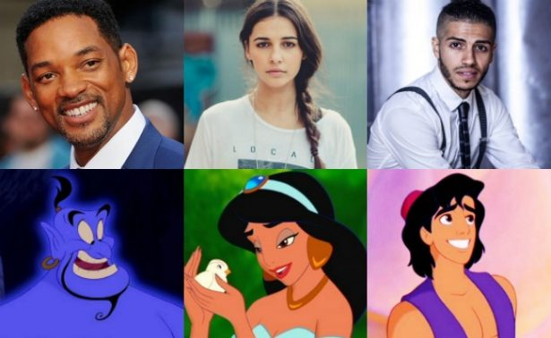 Disney revela a protagonistas de la nueva cinta de Aladdin