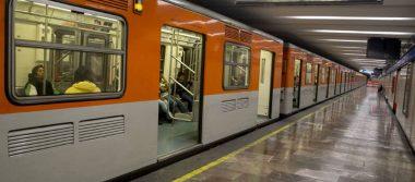 Policías evitan que mujer arroje a bebé a las vías del Metro