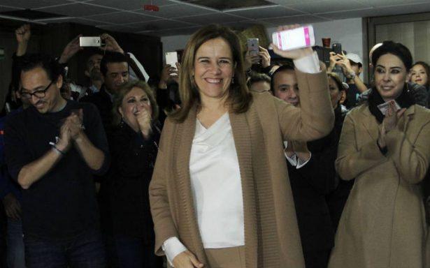 Puntual, Margarita Zavala da banderazo a recolección de firmas