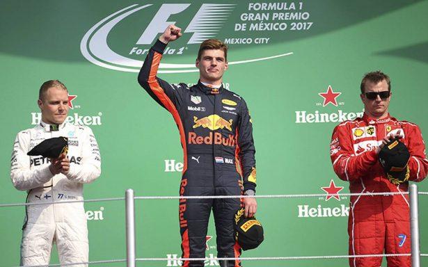 Gobierno mexicano felicita a pilotos de la F1 tras carrera del Gran Premio