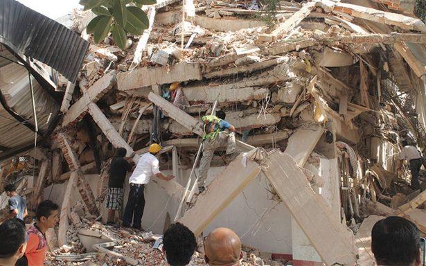 Ubican 40 edificios caídos por sismo del 19 de septiembre
