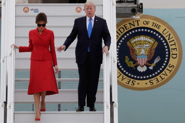 Donald Trump arriba a París para fiesta nacional francesa