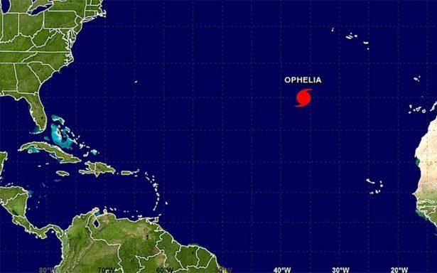 Ofelia se convierte en huracán; es el décimo de la temporada