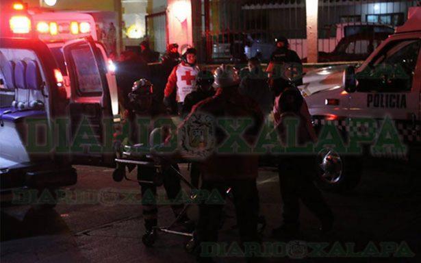 Balacera en el centro de Xalapa deja dos muertos y cuatro heridos